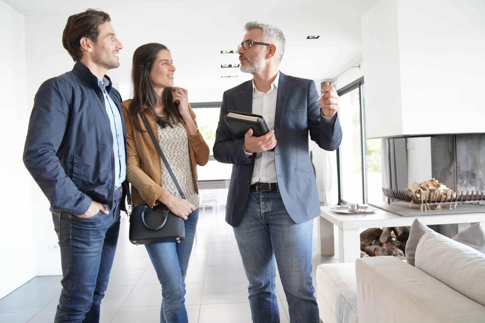 agente inmobiliario filtro visitas