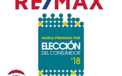 RE/MAX España, ¡la compañía inmobiliaria mejor valorada por los consumidores españoles por segundo año consecutivo!