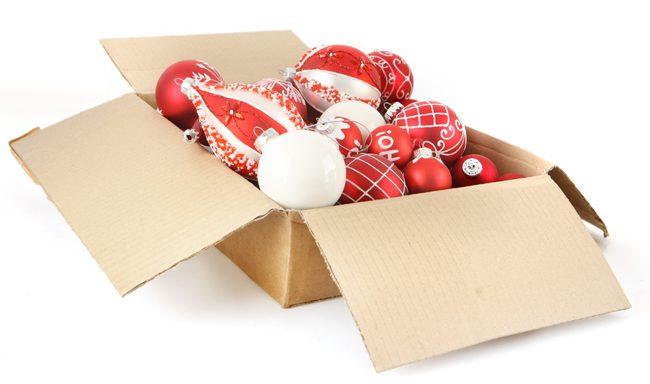 8 consejos para almacenar la decoración navideña