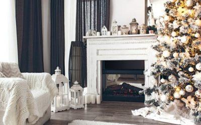 4 estilos de decoración navideña